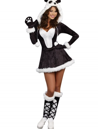 Women's Plus Size Panda Bear Baby Costume