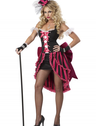 Women's Plus Size Parisian Showgirl Costume