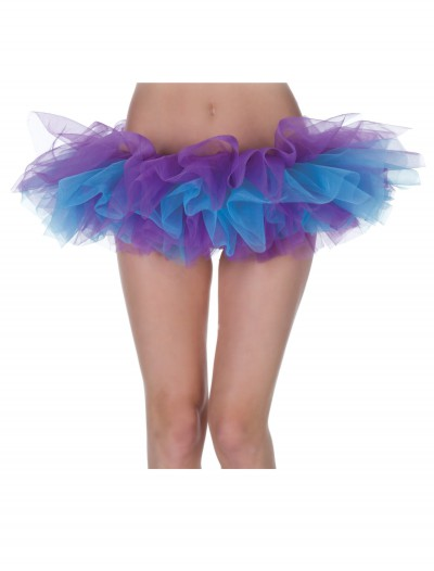 Womens Purple and Blue Tutu