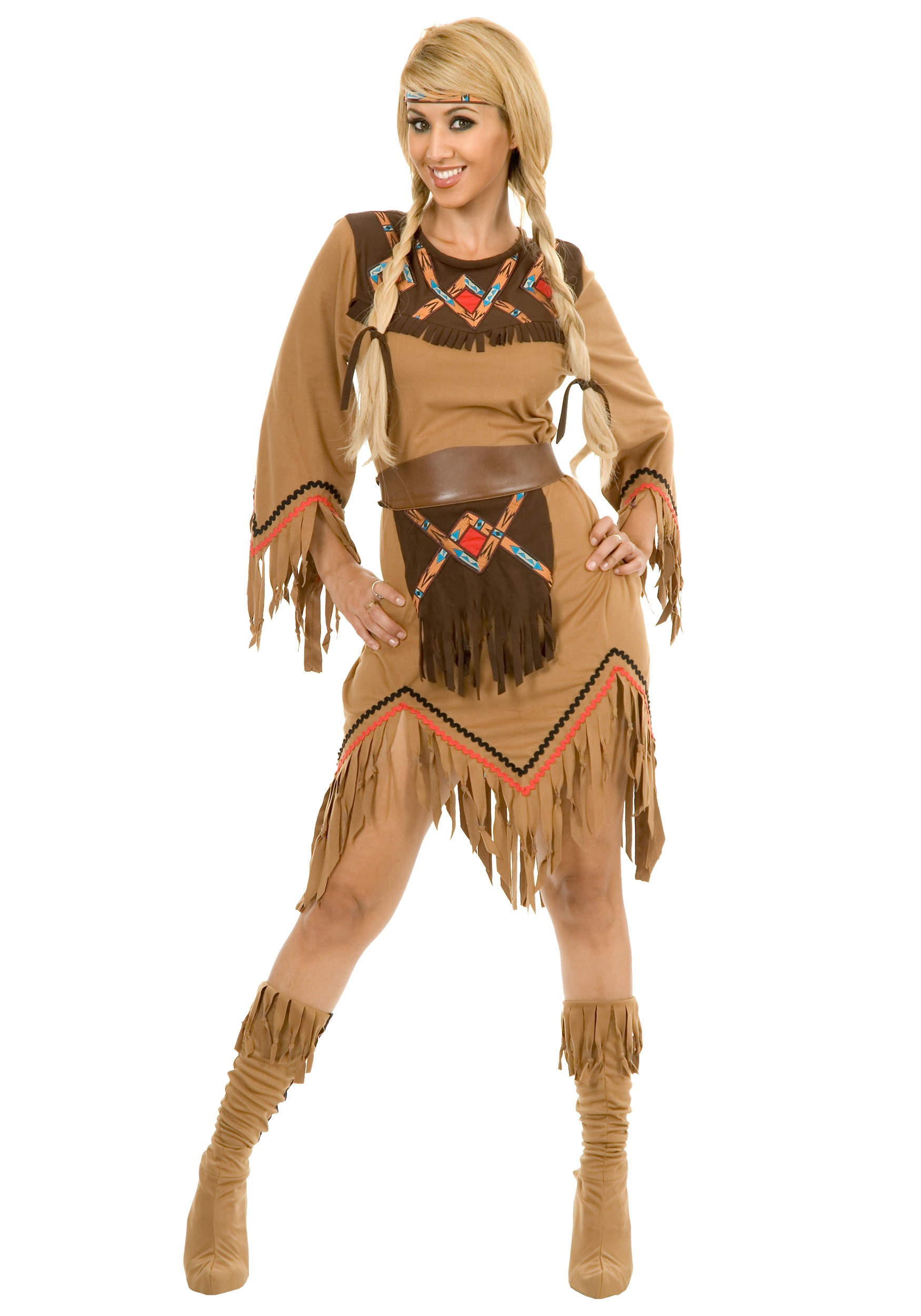 Women's Sacajawea Indian Maiden Costume