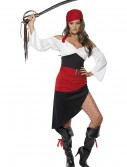 Womens Sassy Pirate Costume