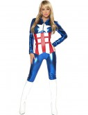 Womens Sexy American Hero Costume