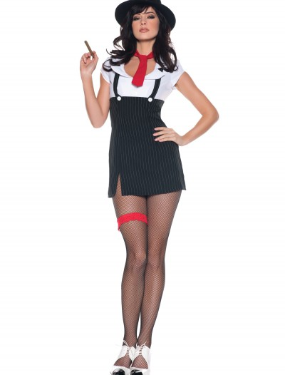 Womens Sexy Gangster Molly Costume