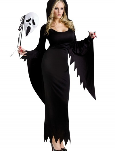 Womens Sexy Ghost Face Costume