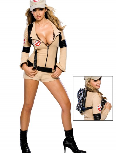 Women's Sexy Ghostbuster Costume