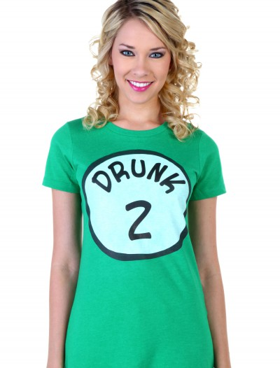 Womens St. Patrick's Day Drunk 2 T-Shirt