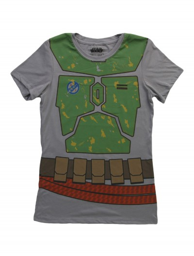 Womens Star Wars Boba Fett Costume T-Shirt