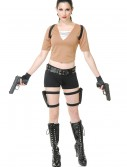Women's Tomb Fighter Costume