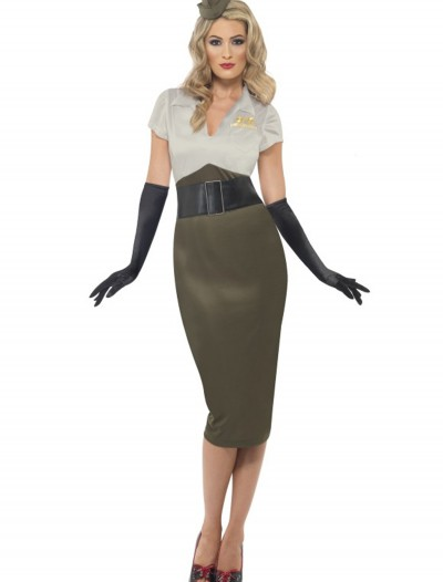 WW2 Army Pin Up Darling Costume
