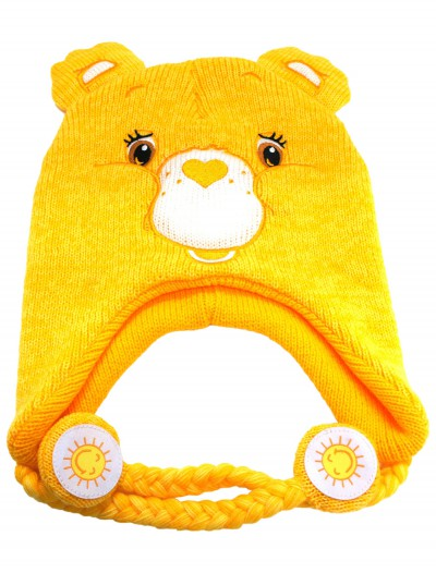 Yellow Carebears Laplander Hat