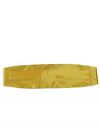 Yellow Cummerbund