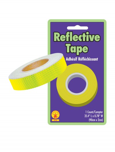 Yellow Reflective Safety Tape