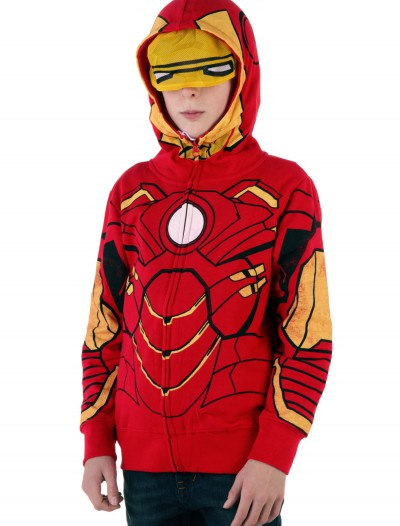 Youth Iron Man Costume Hoodie