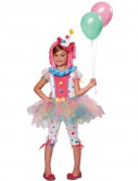 Rainbow Clown Child Costume