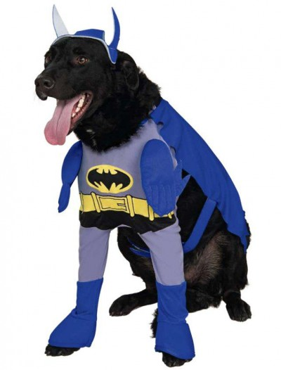 Batman Brave Bold Batman Dog Costume