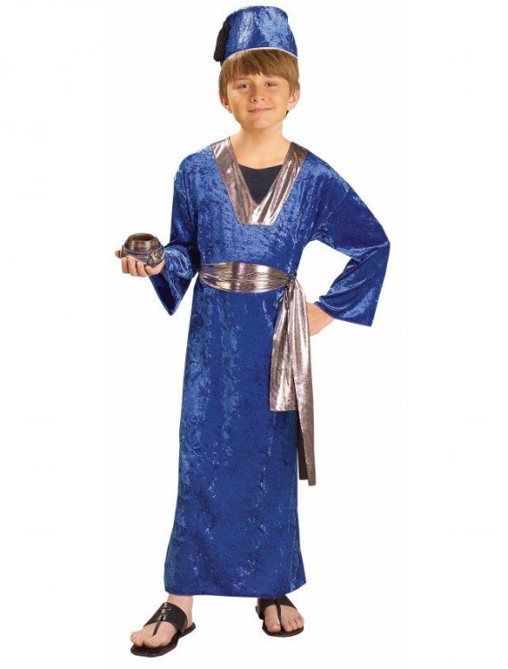 Blue Wiseman Child Costume