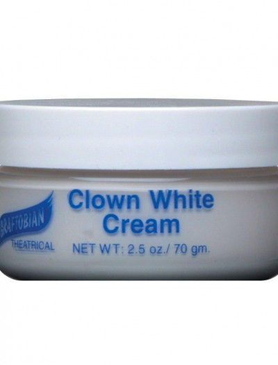 Clown White Creme Foundation (2.5 oz.)