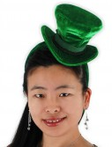 Green Cocktail Top Hat Headband