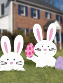 Bunny Lawn Signs Asst. (5 count)