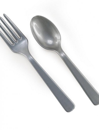 Silver Forks Spoons (8 each)