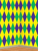 30' Mardi Gras Harlequin Backdrop
