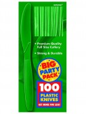 Festive Green Big Party Pack - Knives (100 count)