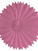Candy Pink 22 Paper Tissue Fan