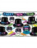 New Year's Eve Neon Party Kit for 10