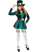 Sexy Leprechaun with Hat Adult Plus Costume
