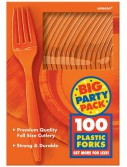 Orange Peel Big Party Pack - Forks (100 count)