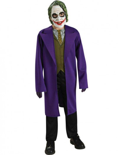 Batman Dark Knight The Joker Tween Costume