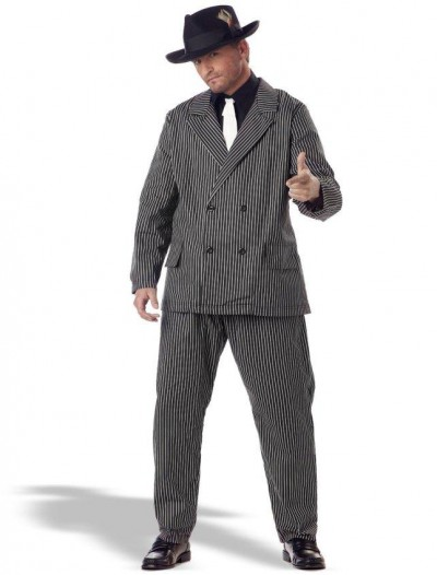 Gangster Adult Plus Costume