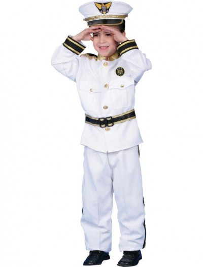 Navy Admiral Deluxe Child Costume