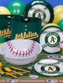 Oakland Athletics Baseball Deluxe Party Kit