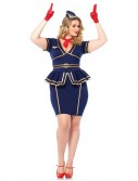 Friendly Flight Attendant Plus Size Dress
