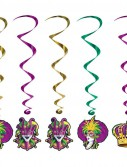 Mardi Gras - Whirls (5 count)