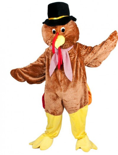 Thanksgiving Turkey Adult Mascot Costume