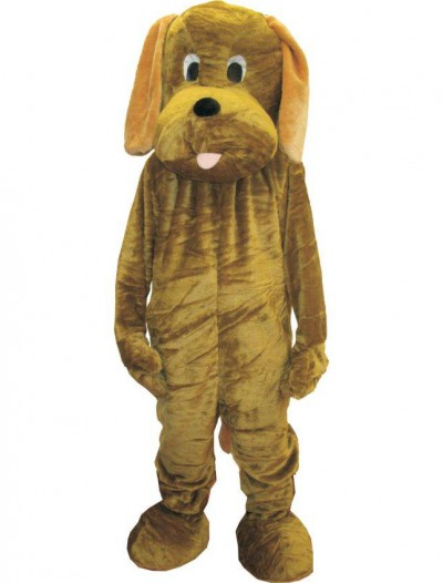 Adult Puppy Mascot Costume Set