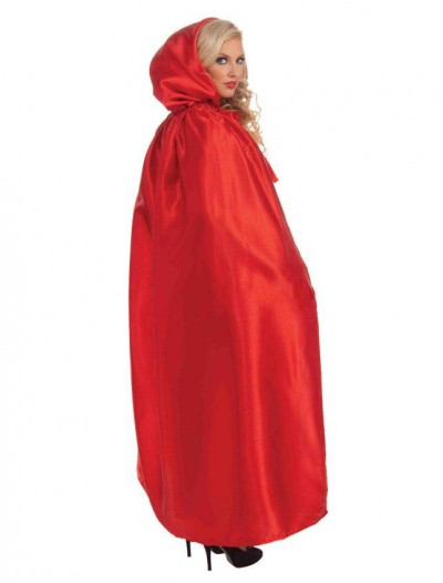 Fancy Masquerade Red Adult Cape