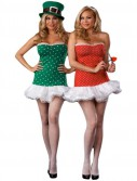 Struck By Luck Reversible Cupid/Leprechaun Adult Plus Costume