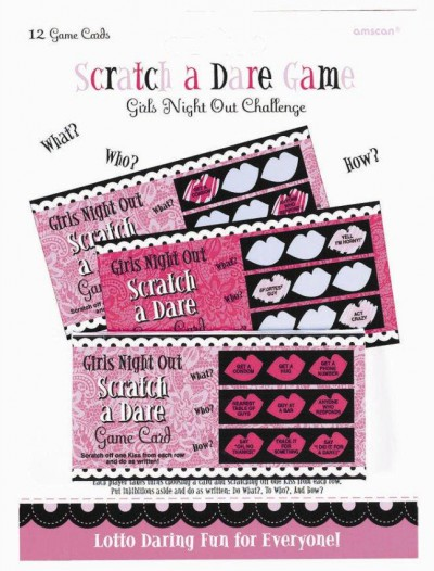 Bachelorette Scratch a Dare Game