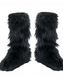 Fuzzy (Black) Child Boot Covers