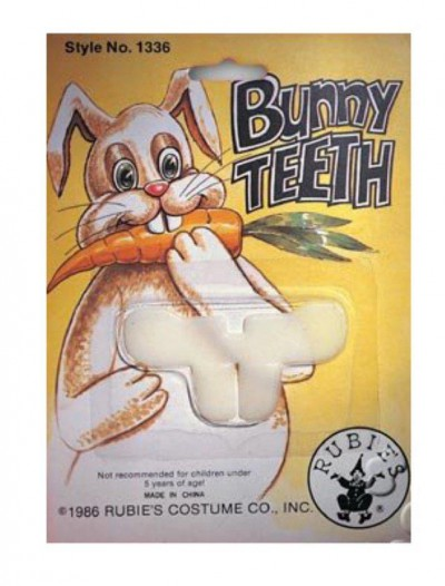 Bunny Teeth White