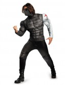 Captain America The Winter Soldier - Winter Soldier Muscle Chest Costume