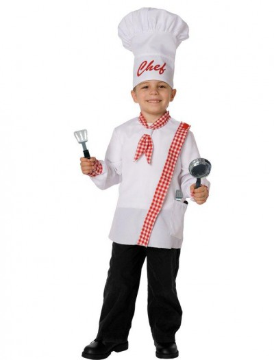 Chef Child Costume Kit
