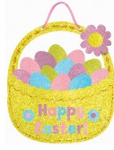 Easter Basket Glitter Sign