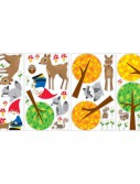 Woodland Gnome Removable Wall Decals