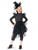 Black Feather Witch Kids Costume
