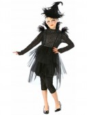 Black Feather Witch Tween Costume