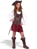 Girl High Seas Buccaneer Child Costume